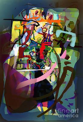 Inner Self Digital Art - Self-renewal 13zd by David Baruch Wolk