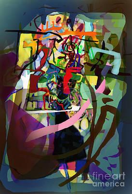 Inner Self Digital Art - Self-renewal 13ze by David Baruch Wolk