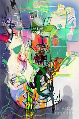 Inner Self Digital Art - Self-renewal 14m by David Baruch Wolk