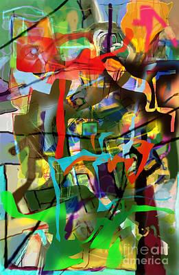 Talmud Digital Art - Self-renewal 15af by David Baruch Wolk