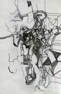 Creation Of Self Digital Art - Self-renewal 15c by David Baruch Wolk