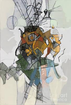 Inner Self Digital Art - Self-renewal 16c by David Baruch Wolk