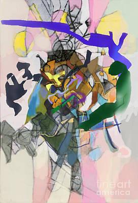 Talmud Digital Art - Self-renewal 16f by David Baruch Wolk