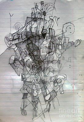Self-renewal 2 Original by David Baruch Wolk
