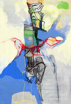 Inner Self Digital Art - Self-renewal 21c by David Baruch Wolk