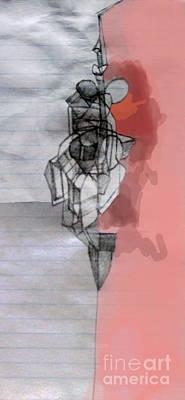 Inner Self Digital Art - Self-renewal 5b by David Baruch Wolk