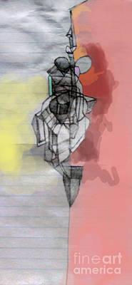 Inner Self Digital Art - Self-renewal 5c by David Baruch Wolk