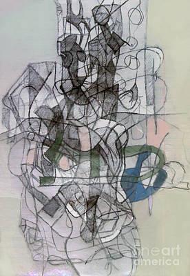 Inner Self Digital Art - Self-renewal 6b by David Baruch Wolk