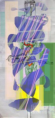 Inner Self Digital Art - Self-renewal  8d by David Baruch Wolk