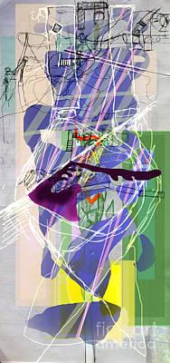 Inner Self Digital Art - Self-renewal  8f by David Baruch Wolk