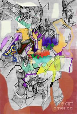 Inner Self Digital Art - Self-renewal  9f by David Baruch Wolk