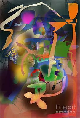 Inner Self Digital Art - Self-renewal  9h by David Baruch Wolk