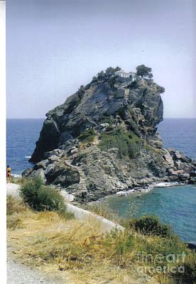 Photograph - Agios Ioannis Sto Kastraki by Katerina Kostaki