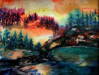 Painting - Aglow by Kim Shuckhart Gunns