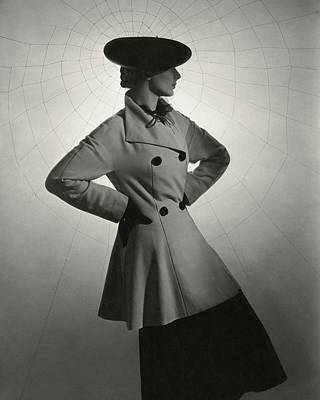Photograph - Agneta Fischer Wears Lanvin by Horst P. Horst
