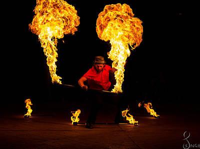 Firedancer Photograph - Agni The Cleanser  by Navneet Singh