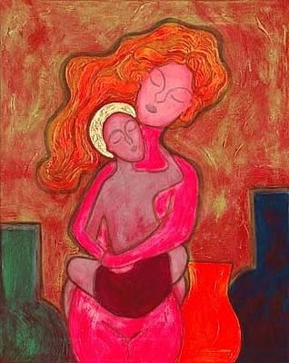 Agnus Painting - Agnus Dei 2 by Jennifer Wilkinson Rynbrandt