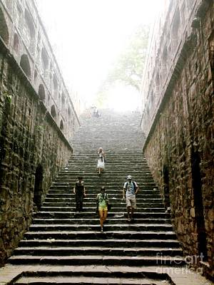 Photograph - Agrasen Ki Bowli-monument by Jyoti Vats