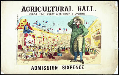 Illustration Technique Photograph - Agricultural Hall by British Library