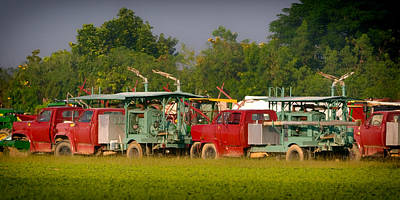 City Photograph - Agricultural Trucks by Celso Diniz
