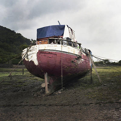 Photograph - Aground by Christopher Rees