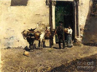 Painting - Aguadeiro Espanthol by Pg Reproductions