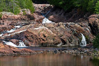 Thunder Bay Photograph - Aguasabon River Flowing Into Lake by David R. Frazier