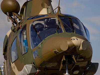Agustawestland Aw109 Photograph - Agusta Close by Paul Job
