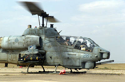 Army Reserves Photograph - Ah-1w Super Cobra by Celestial Images