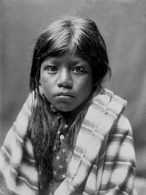 Native American Photograph - Ah Chee Lo by Aged Pixel