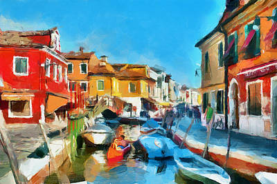 Ah Venice Dreams 2 Art Print