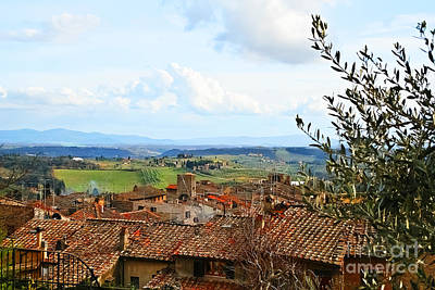 Photograph - Ahh Tuscany by Elvis Vaughn