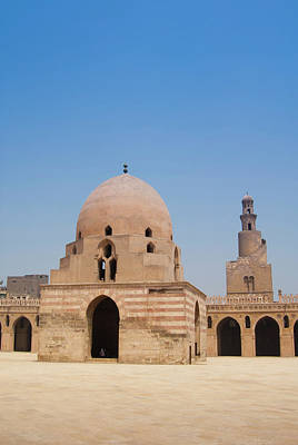 Northern Africa Photograph - Ahmed Ibn Tulun Mosque, Cairo, Egypt by Nico Tondini