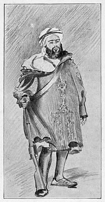 Moroccan Drawing - Ahmed Muhammed Raisuli (c1875-1925) by Granger
