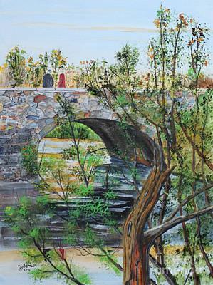 Ahnapee River Crossing Art Print
