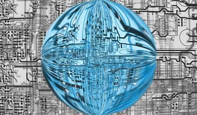 Fused Digital Art - AI by Dan Sproul