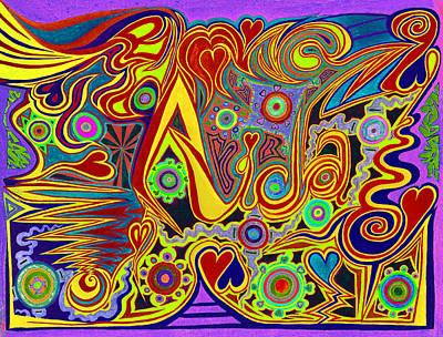 Drawing - Aida 6  by Kenneth James
