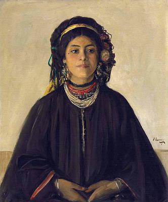Aida Painting - Aida A Moorish Maid by John Lavery