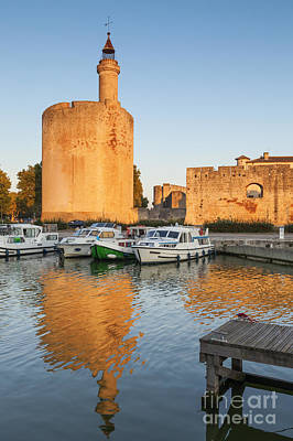 Aigues-mortes  Languedoc-roussillon France Constance Tower Art Print by Colin and Linda McKie