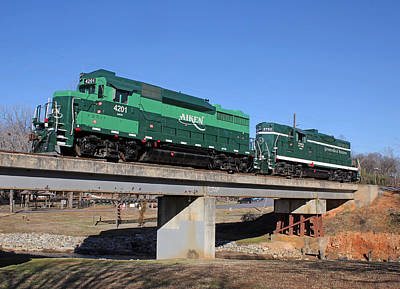 Photograph - Aiken Railway 01/19/2014 by Joseph C Hinson Photography