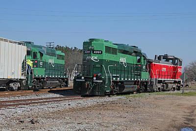 Photograph - Aiken Railway 2 28 B by Joseph C Hinson Photography