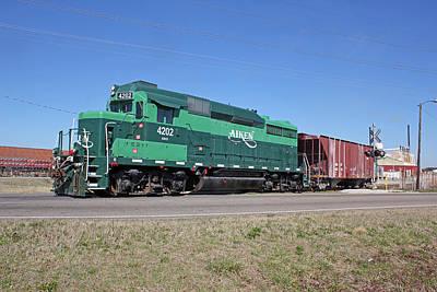 Photograph - Aiken Railway Feb 28 by Joseph C Hinson Photography