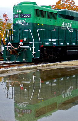 Photograph - Aiken Railway Reflection by Jean Wright