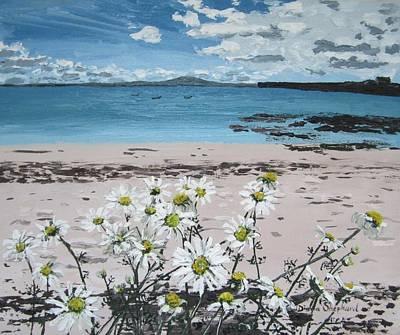 Painting - Aillebrack Ballyconneelly Connemara Ireland by Diana Shephard