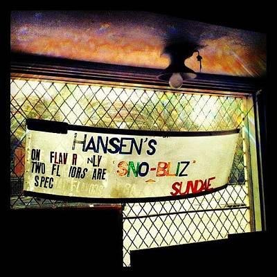 New Orleans Photograph - Ain't No Snoballs Like Hansen's by Glen Abbott