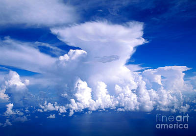 Deep Blue Photograph - Air by Aiolos Greek Collections