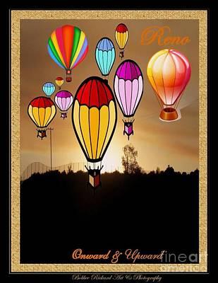 Photograph - Air Balloons Reno by Bobbee Rickard