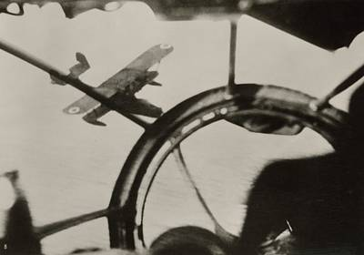 World War Ii Bomber Photograph - Air Combat by Eye On The Reich: German Propaganda Photographs/new York Public Library
