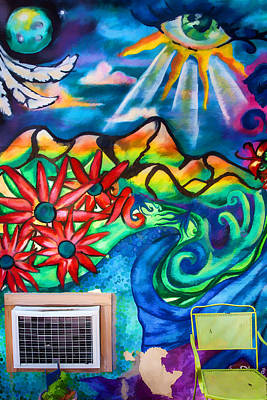 Photograph - Air Conditioned Mural by John Haldane