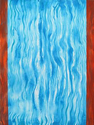 Air Flow Art Print by Tom Hefko